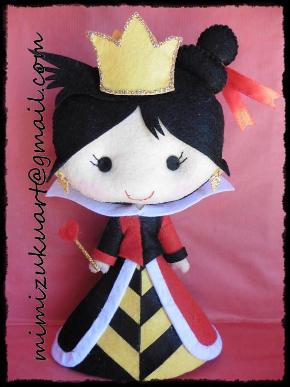 Queen of hearts La reina de corazones versión mimizuku art