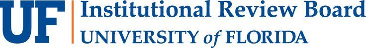 University of Florida Institucional Review Board