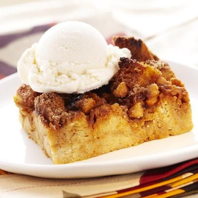 With sugar, spice and everything nice, this delightful Pumpkin Butterscotch Bread Pudding is coated with scrumptious butterscotch morsels for a dessert that's easy to be thankful for. And with a flavorful boost of pumpkin, what's not to love?