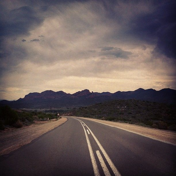 The Long way home - love driving in the Karoo