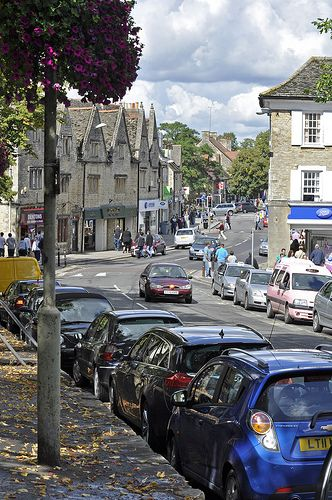 High Street from Market Square, Witney, Oxfordshire