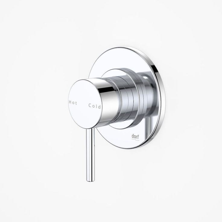 Dorf | Mixer Taps - Kytin - Kytin Round Plate Bath/Shower Mixer