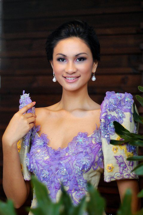 Hairstyle For Filipiniana Dress - Selangor g