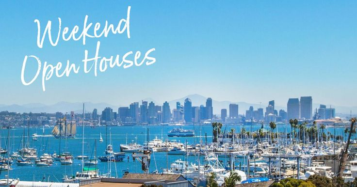 Come explore Point Loma this weekend and find your dream home. Check out our full weekend schedule of San Diego open houses here:
