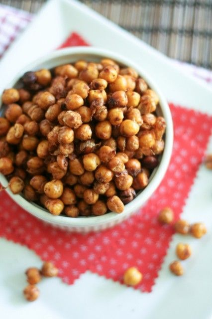 ... chickpeas see more 8 sriracha lime and cilantro roasted chickpeas