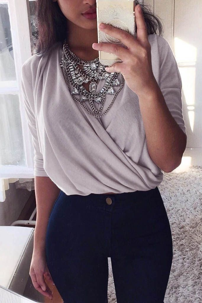 The perfect outfit to wear from work to play! #womensfashion