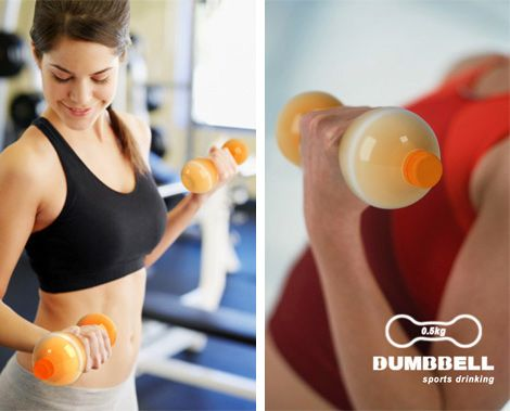 dumbbell-drink,#creativedesign