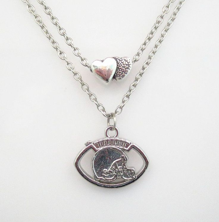 NFL Cleveland Browns Football Team Necklace