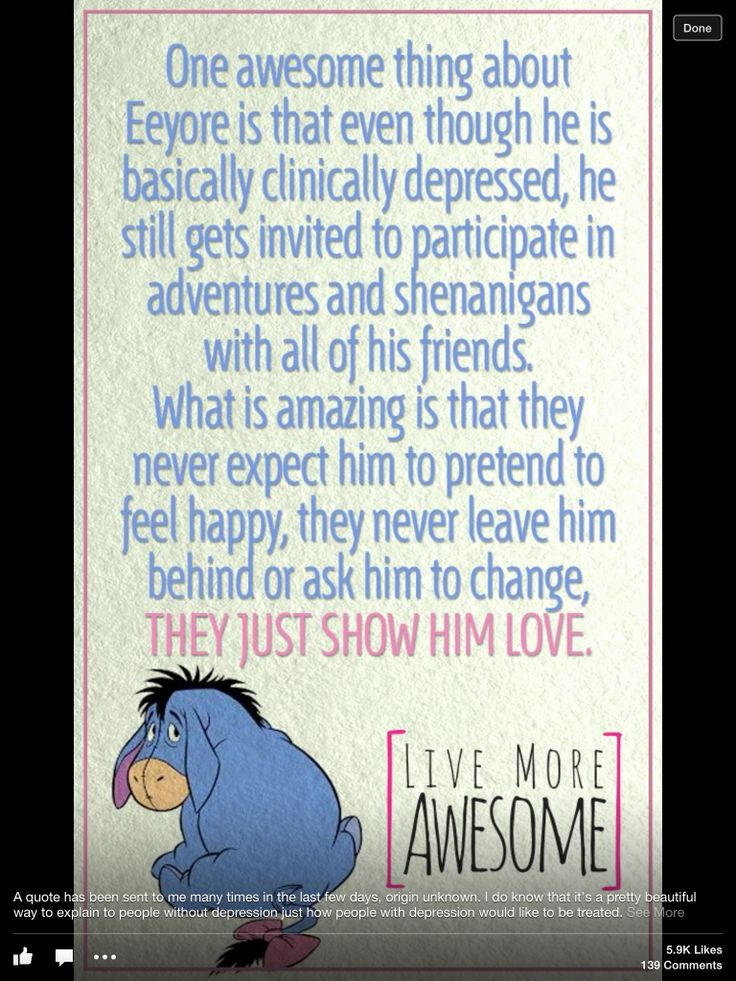 Including a friend with depression!