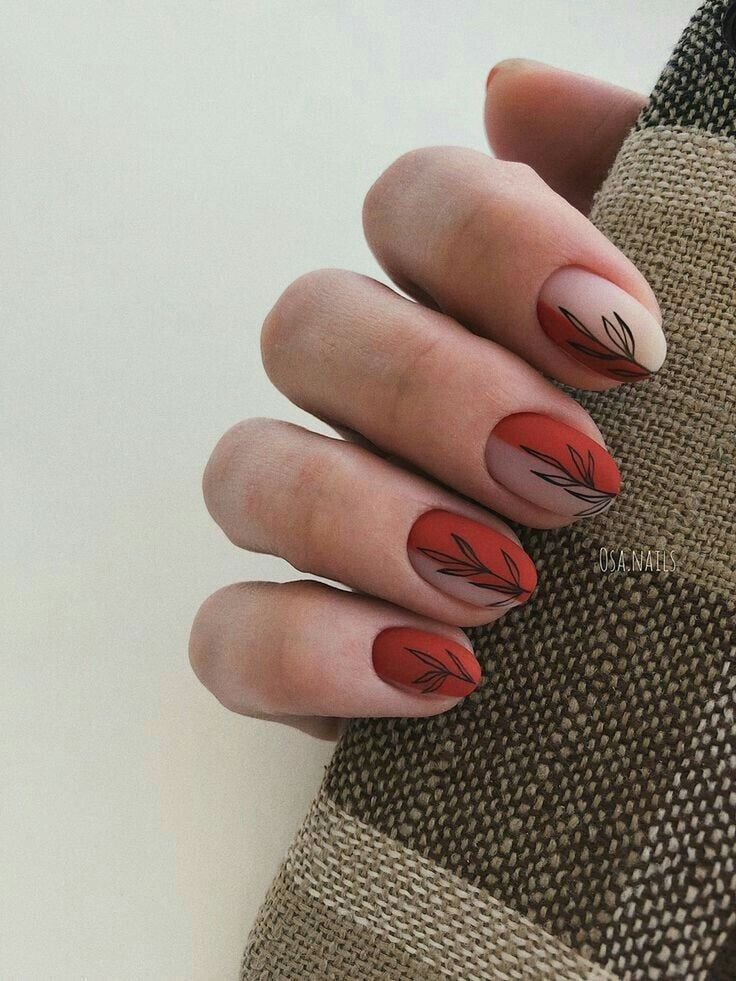 20+ Trendy Halloween Nails To Copy This Year | Simple ...