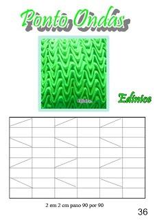 grafico Punto Ondas ( ideal para fundas de almohadones)