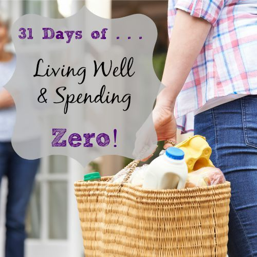 I've decided to take on the Living Well & Spending Zero challenge for the month of October!  Want to join me?!  Wondering how to do it?  Ruth Soukup, the creator of this challenge, has created some great resources to help you along.  Not only will we not be spending money this month, we'll be completing daily …
