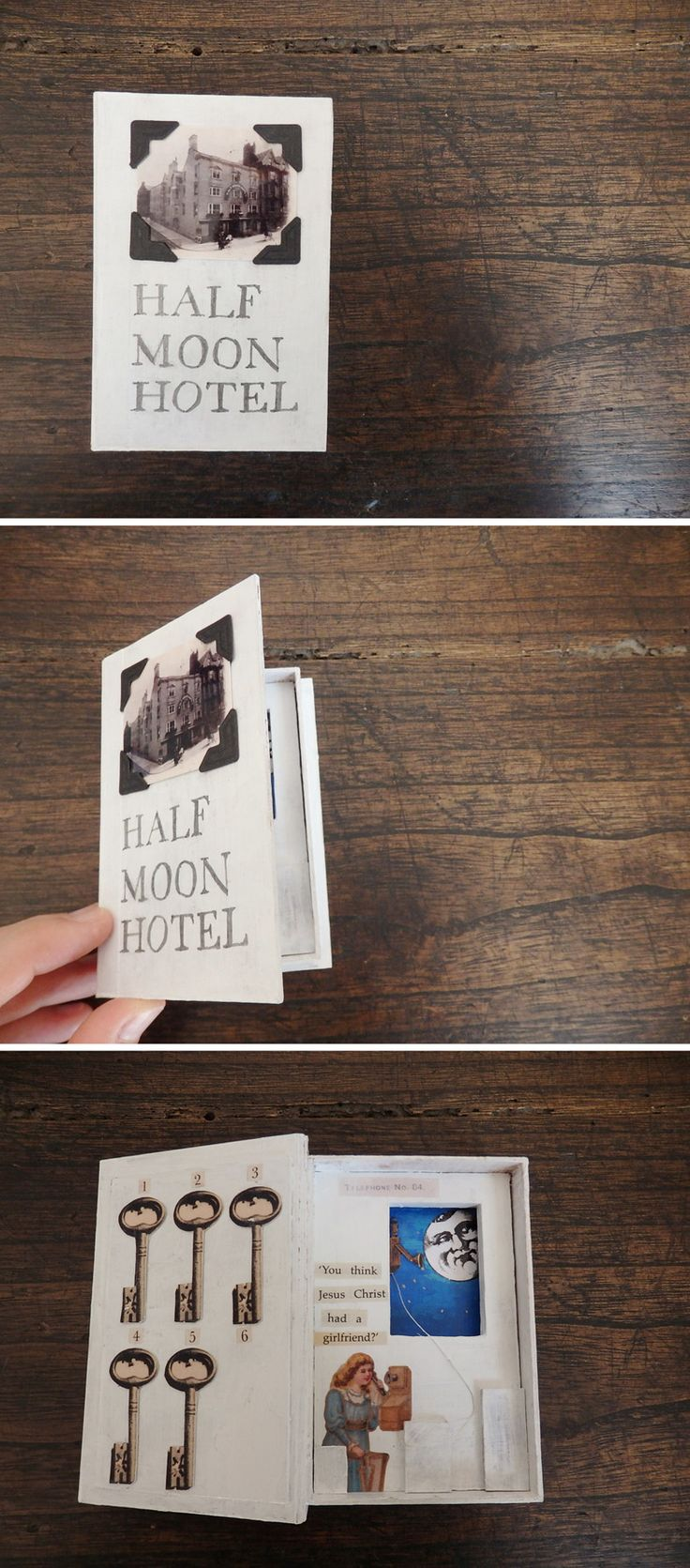 """""""Half Moon Hotel"""" by Miki Mikinoki, 2016"""