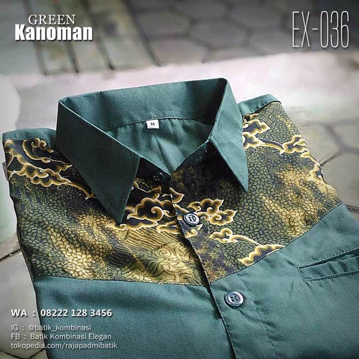 SERAGAM BATIK, Green Kanoman, Batik Seragam Kantor, Seragam Batik Perusahaan, Batik Kombinasi, Batik Cowok, https://seragambatikpria.wordpress.com, WA : 08222 128 3456