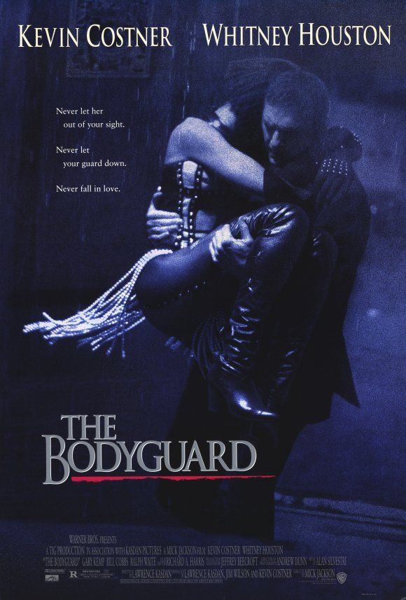 'The bodyguard'. RIP Whitney Houston. used to want to be her in this movie. She was beautiful and has a sexy man