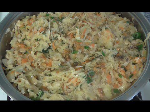 Капуста тушенная с грибами - отличная начинка для пирогов, пирожков и вареников. Как приготовить тушенную капусту с грибами. Свежая жаренная капуста с луком ...