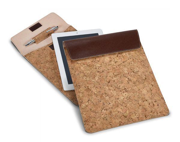 Funda Tablet Corcho. Incluye porta bolígrafo. Desde 12,63 € en www.areadifusion.com
