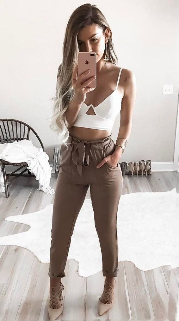 52 Spring Outfit Ideas for Inspiration 2017 - My Cute Outfits