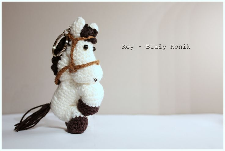 Amigurumi horse #amigurumi #amigurumis #horse #white #ponny #koń #konik #brelok #szydełkowy #rękodzieło #crochet