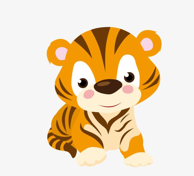 Cartoon Cute Little Tiger Cute Clipart Tiger Clipart Cartoon Clipart Png Transparent Clipart Image And Psd File For Free Download Cartoon Tiger Cartoon Clip Art Cute Clipart