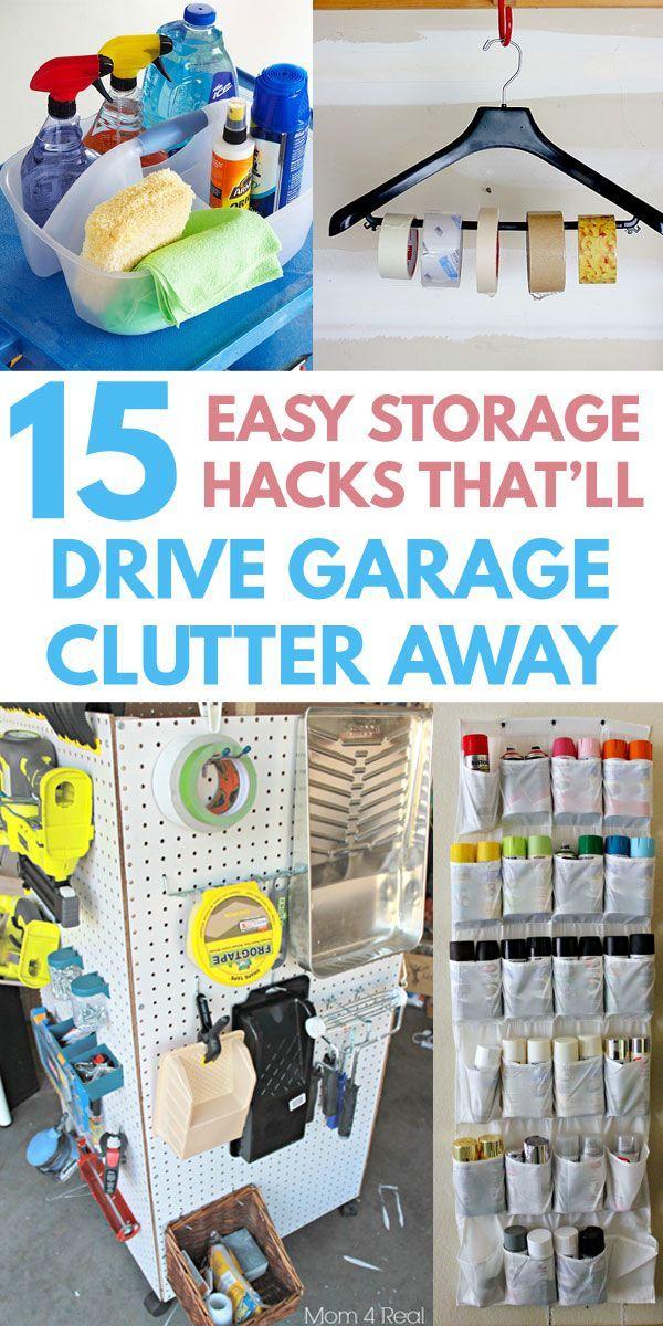 15 Quick Cheap Garage Organization Ideas Anyone Can Do With
