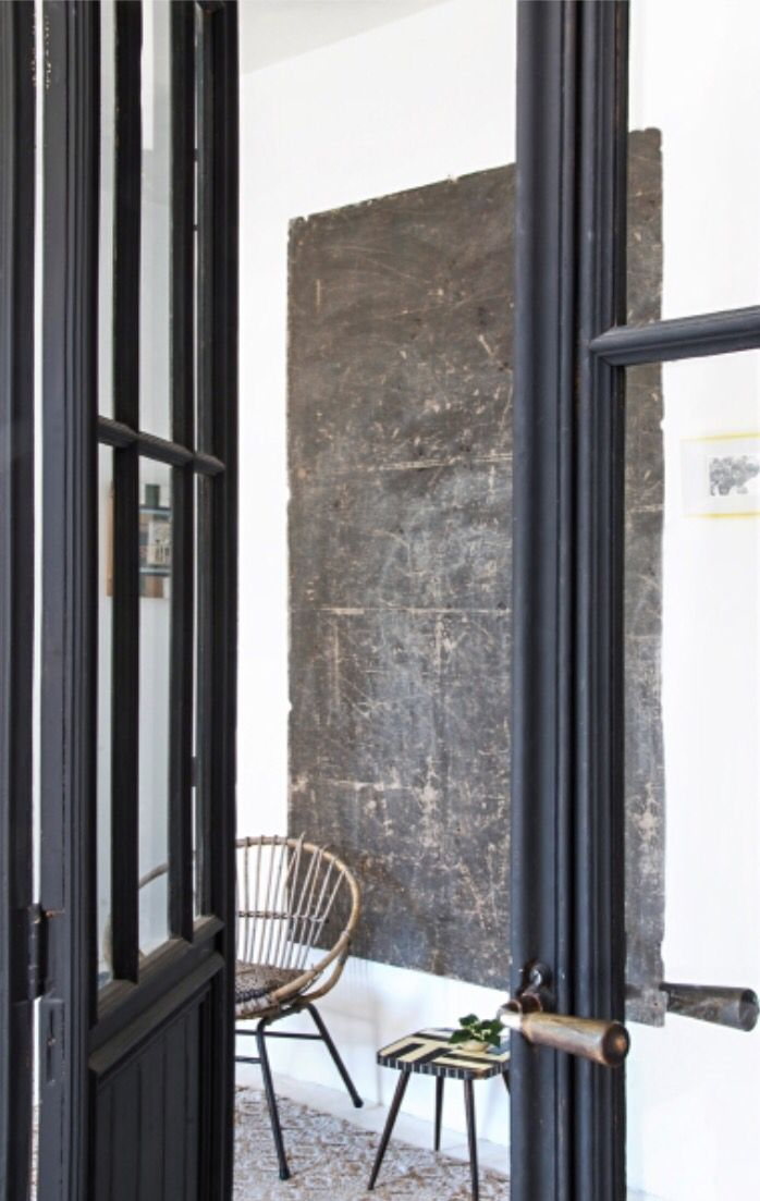 """This narural entrance is from our feature """"Casual is Carcassonne"""""""