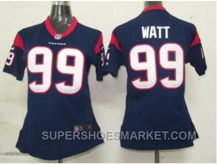http://www.supershoesmarket.com/nike-women-nfl-jerseys-houston-texans-99-watt-blue-cheap-to-buy.html NIKE WOMEN NFL JERSEYS HOUSTON TEXANS #99 WATT BLUE CHEAP TO BUY Only $23.06 , Free Shipping!