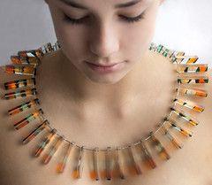 Corrugated Necklace