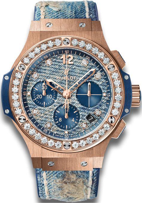 341.pl.2780.nr.1204.jeans Hublot Big Bang Jeans 41mm Midsize Watch
