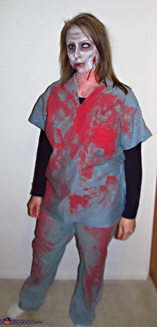 Zombie Nurse Costume - Halloween Costume Contest via @costumeworks