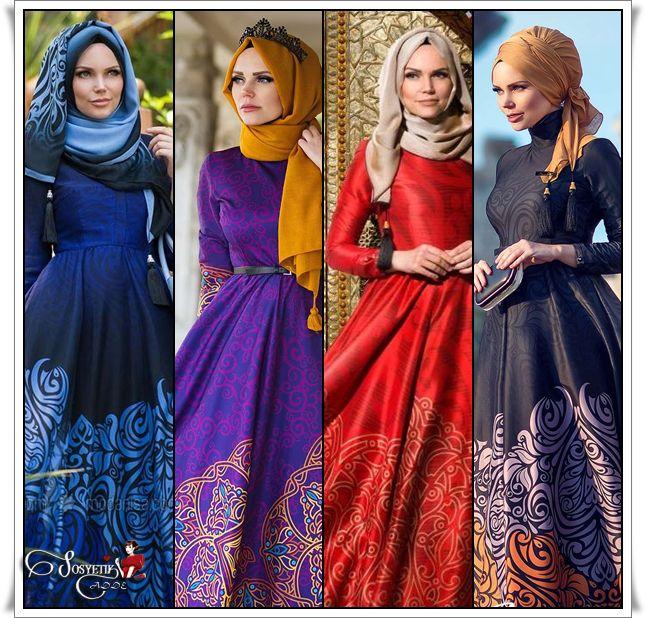Muslima Wear imzasıyla sunulan özel tasarımlar tesettürlü bayanların büyük ilgisini çekmekte..Muslima Wear tasarımlarında Osmanlı saraylarını anımsatan desenleri,    Twil ipekten veya desenli empirme kumaşlardan tasarlanan Muslima Wear Tesettür elbiseler,Ceket Modelleri  ile hem gece hem de    gündüz davetlerinde kullanılabilecek modellerin bulunduğu çok şık bir koleksiyon. Galeri için ⤵ http://www.sosyetikcadde.com/muslima-wear-tasarimlari/