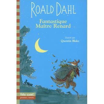 Fantastique maître Renard - Roald Dahl - Folio Junior