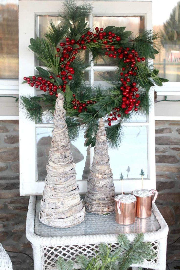 Oltre 25 fantastiche idee su stile rustico su pinterest - Decorazioni natalizie moderne ...