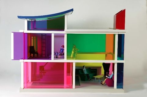 Designers work in miniature for V&A doll's house exhibition. Designers including Paul Priestman, Dominic Wilcox and Bethan Wood have created miniature rooms for a new doll's house exhibition set to open at the V&A Museum of Childhood in London.