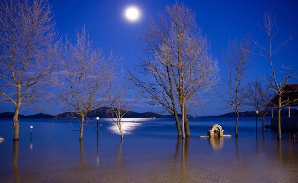 Lake Plastira... Attica-Greece....