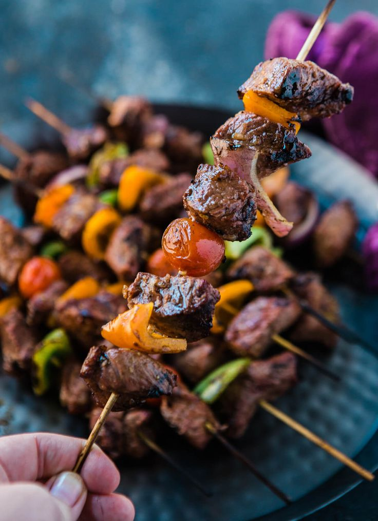 Marinated Beef Shish Kabobs