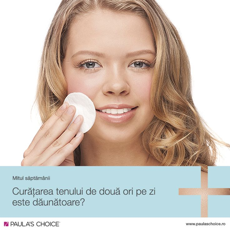 Curățarea tenului de două ori pe zi nu dăunează pielii, în ciuda credințelor populare. Este important să ne curățăm fața atât dimineața, cât și seara, indiferent de tipul de ten.