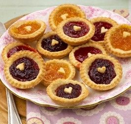 Mini Jam Tarts. Perfect little treat to make for a baby shower and they couldn't be easier to make.
