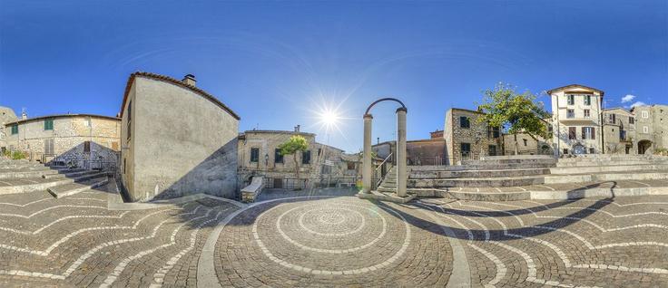 Place de Bouffemont, Maenza, Lazio, Italy