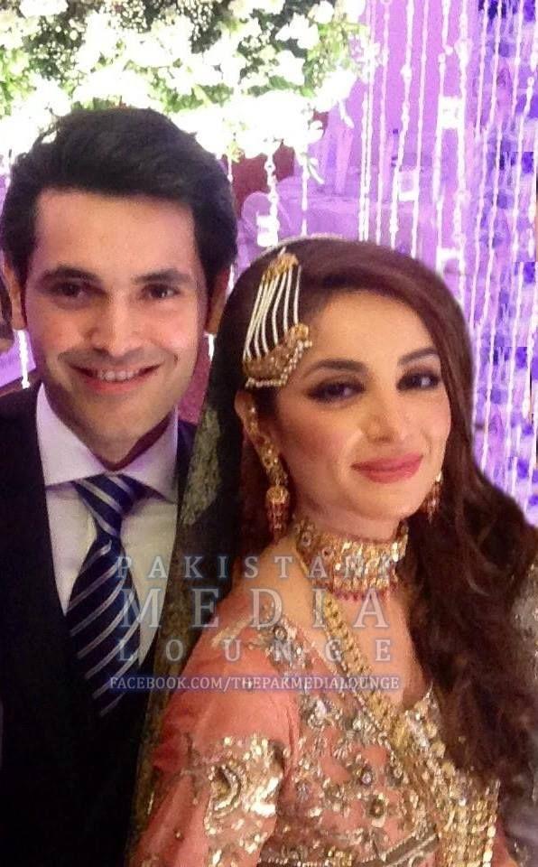 Sarwat Gillani and Fahad Mirza Walima Picture