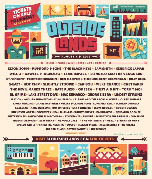 Angus & Julia are coming to play Outside Lands Music Festival AUG 7-9Tickets on sale tomorrow - http://www.sfoutsidelands.com/tickets