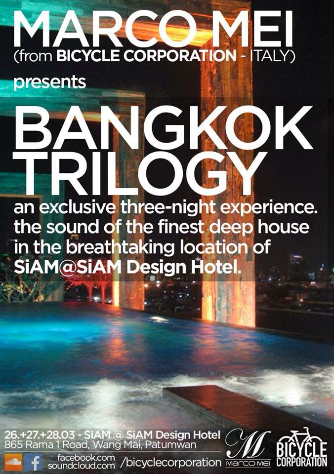 Listen to my session of deep house recorded in the rooftop of SkyBar Bangkok , Saturday 28th March    https://t.co/pym11IEibg