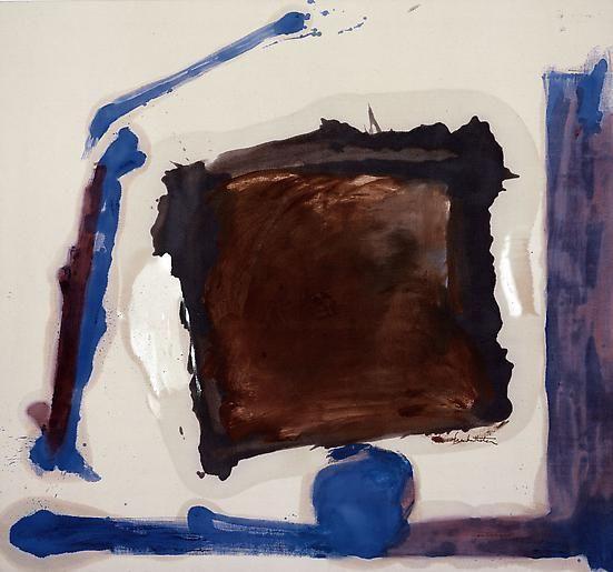 Pivotal Square, 1962 Oil on canvas 56 x 62 ½ inches