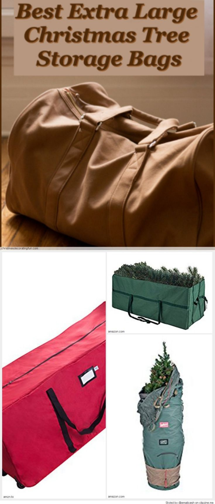 Extra Large Christmas Tree Storage Bag With Wheels