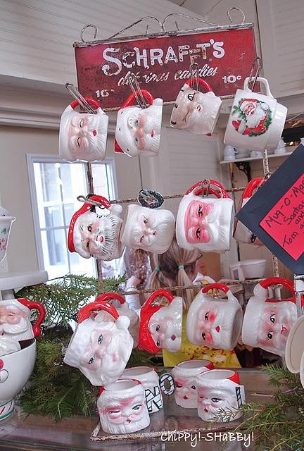 vintage santa cupsVintage Christmas, Vintage Santa, Holiday Vintage, Christmas Decor, Santa Cups, Christmas Vintage, Christmas Ideas, Collection Santa, Merry Christmas