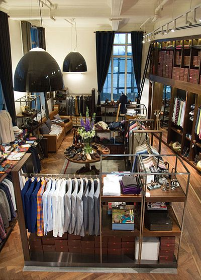 The Armory in Hong Kong.  One of the top mens clothing stores in the world.  I gotta hit this someday.