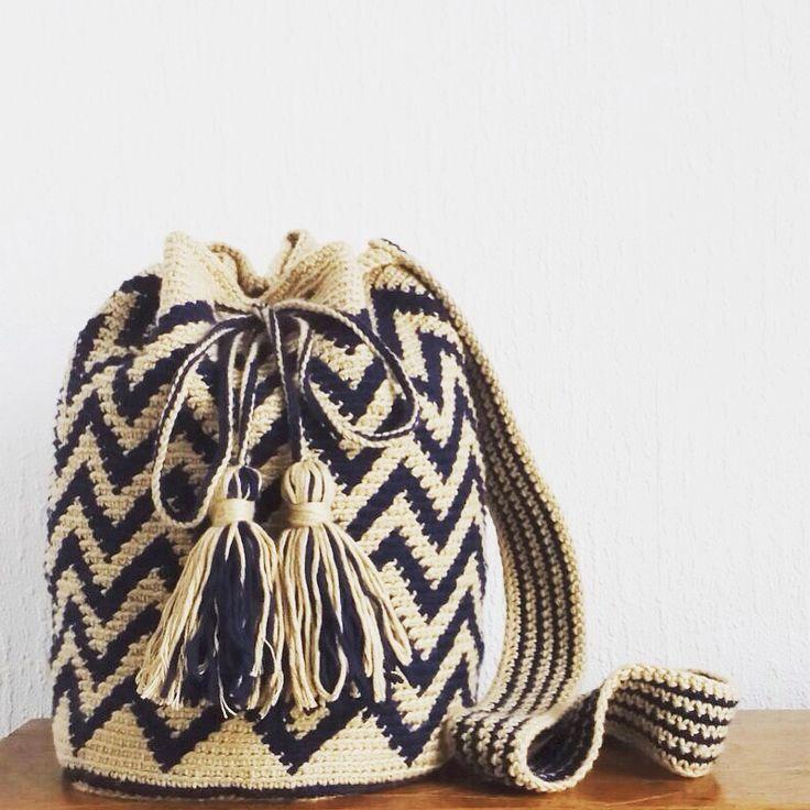 wayuu bag - by minaminina pattern by lanas y ovillos