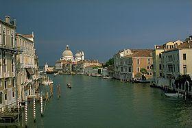 Gran Canal de Venecia -