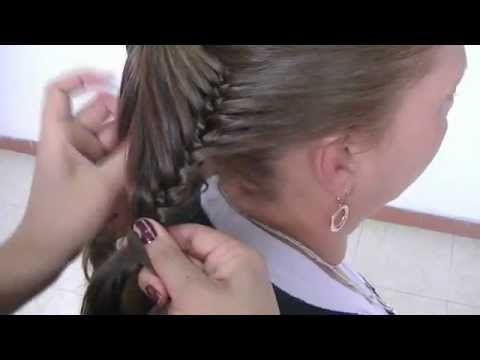 Butterfly Braid! Trenza Mariposa - YouTube