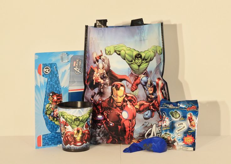 Your little superhero's will love this Avengers Pack